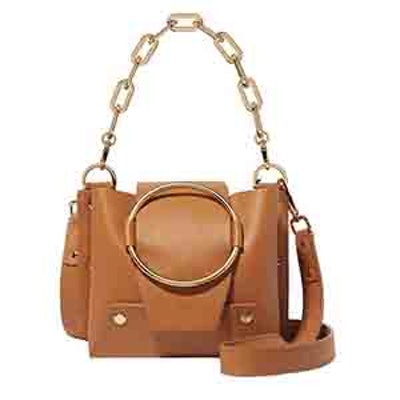 Delila Mini Leather Shoulder Bag