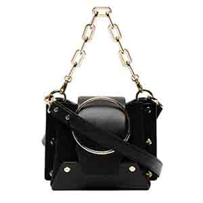 Mini Black Delila Bucket Bag