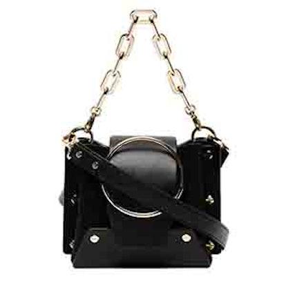Mini Black Delila Bucket Bag