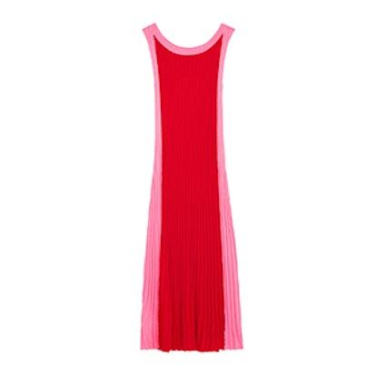 Long Two-Tone Dress