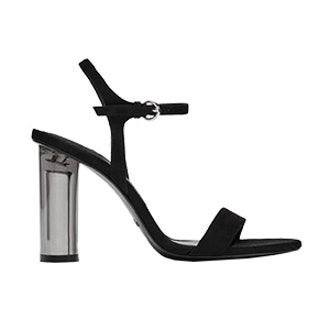High Heel Sandals With Methacrylate Heels
