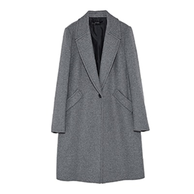 Masculine Coat With Lapels