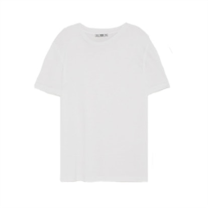 Mercerized Viscose T-Shirt
