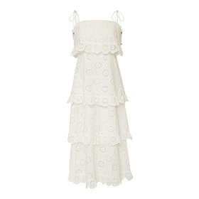 Lumino Daisy Crocheted Lace Dress