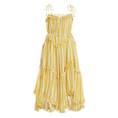 Lumino Floating Striped Linen Dress