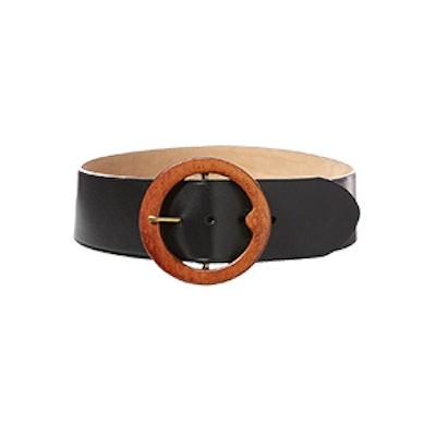 Lennox Wood-Buckle Belt