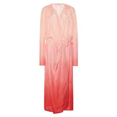 Long Sleeve Ombre Dress