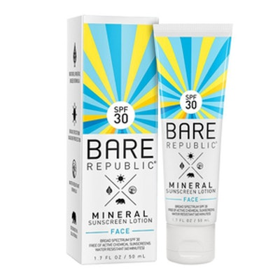 Mineral Sunscreen Face Lotion