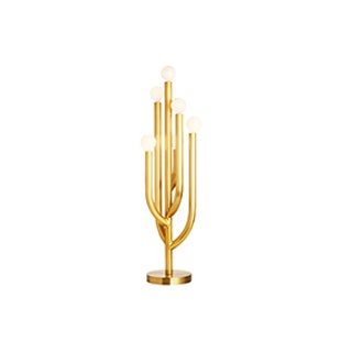 Cacti Glow Brass Table Lamp