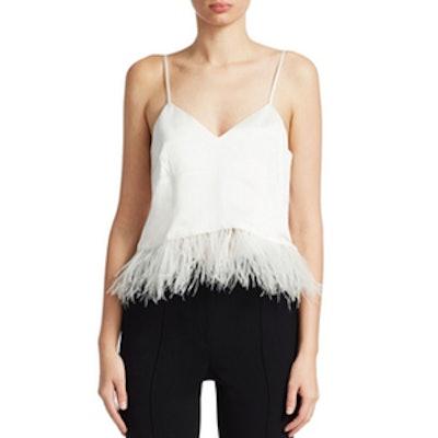 Narcissa Silk Feather Tank