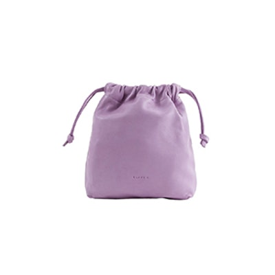 Drawstring Pouch In Lavender