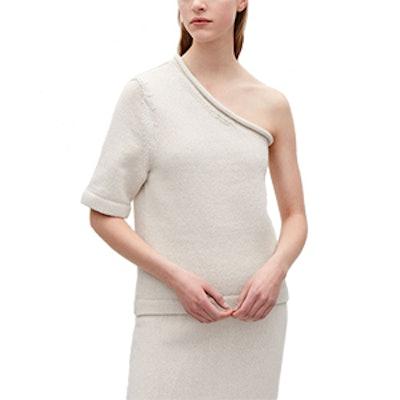 Cotton-Linen Knit Top