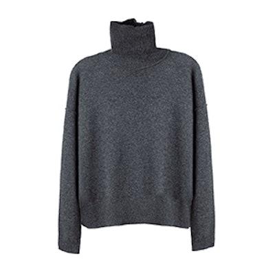 Wool Cashmere Turtleneck Sweater