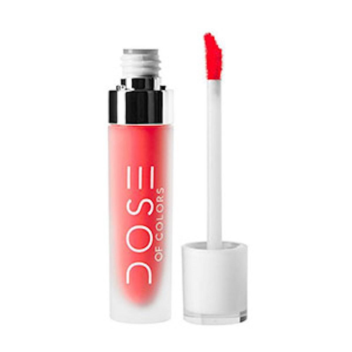 Dose of Colors Matte Liquid Lipstick In Coral Crush