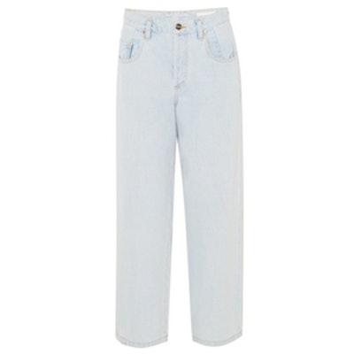 The Upsize Mid-Rise Wide-Leg Jeans