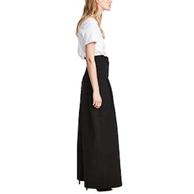 Wide-Cut Pants