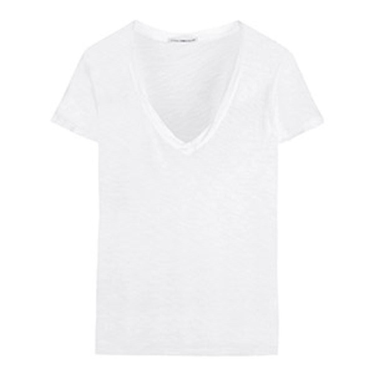 Casual Slub Cotton T-Shirt