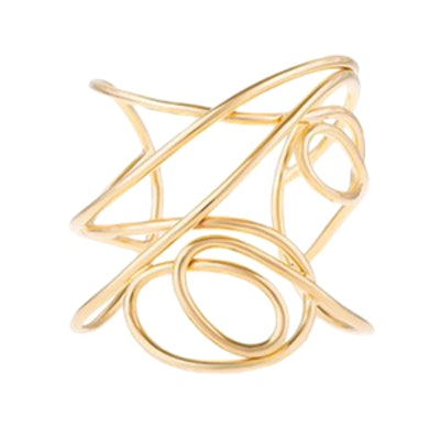Multi Knot Statement Cuff