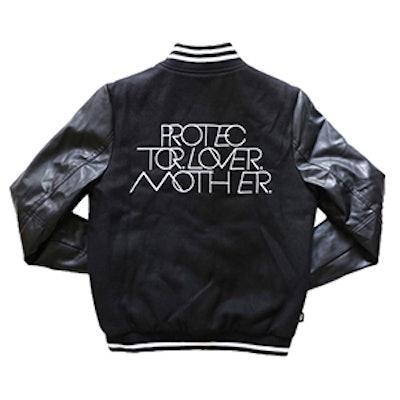 Interlock Protector Love Mother Varsity Jacket