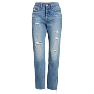Wedgie High Waist Crop Jeans