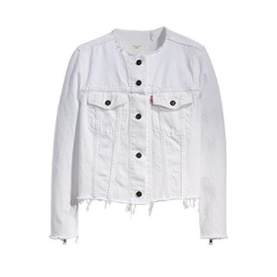 Altered Zip Trucker Jacket