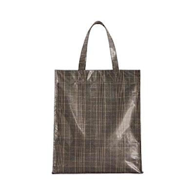 Check Shopper Bag