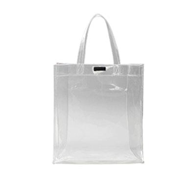 Vinyl Shopper Bag