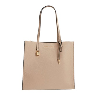 The Grind East/West Leather Shopper