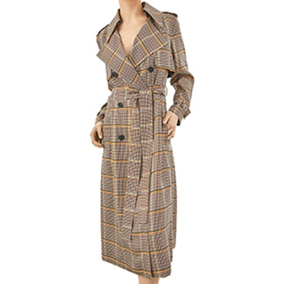 Limited Edition Checked Trench Coat