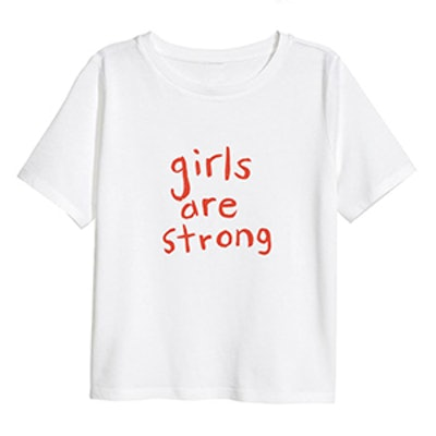 Adult Tee-Girls Are Strong
