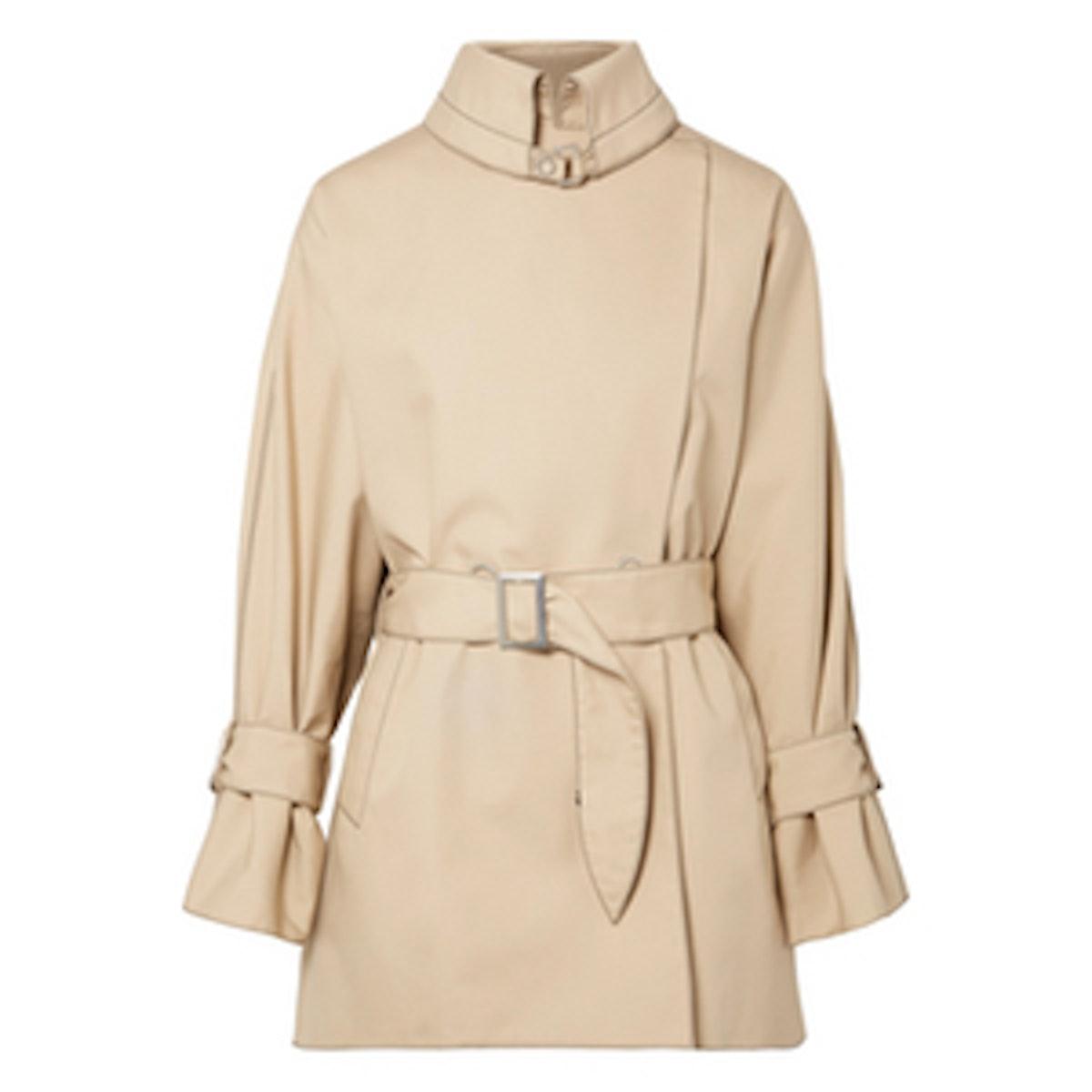 Poplin Trench Coat