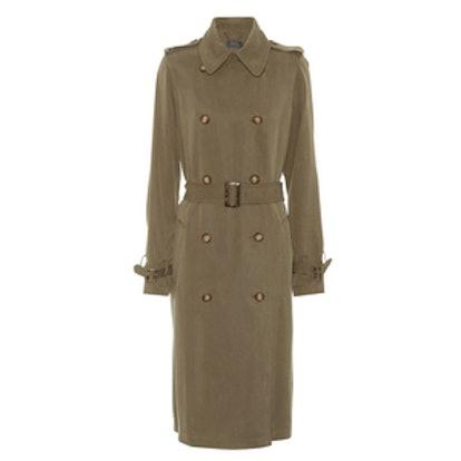 Gabardine Trench Coat