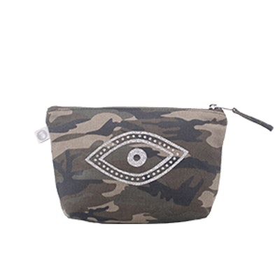 Makeup Bag in Camouflage
