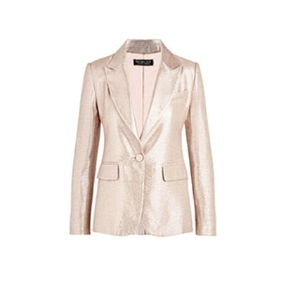Debra Metallic Suiting Blazer