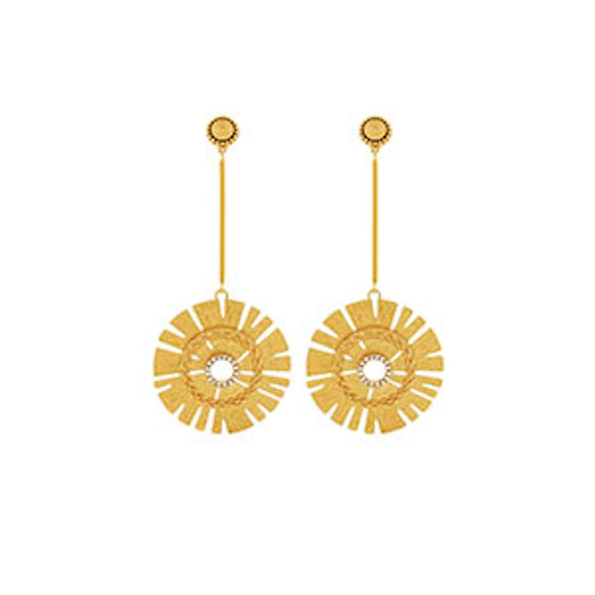 Natasha Starburst Earrings