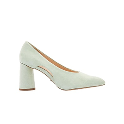 Ginger Cut Out Point Court Shoes