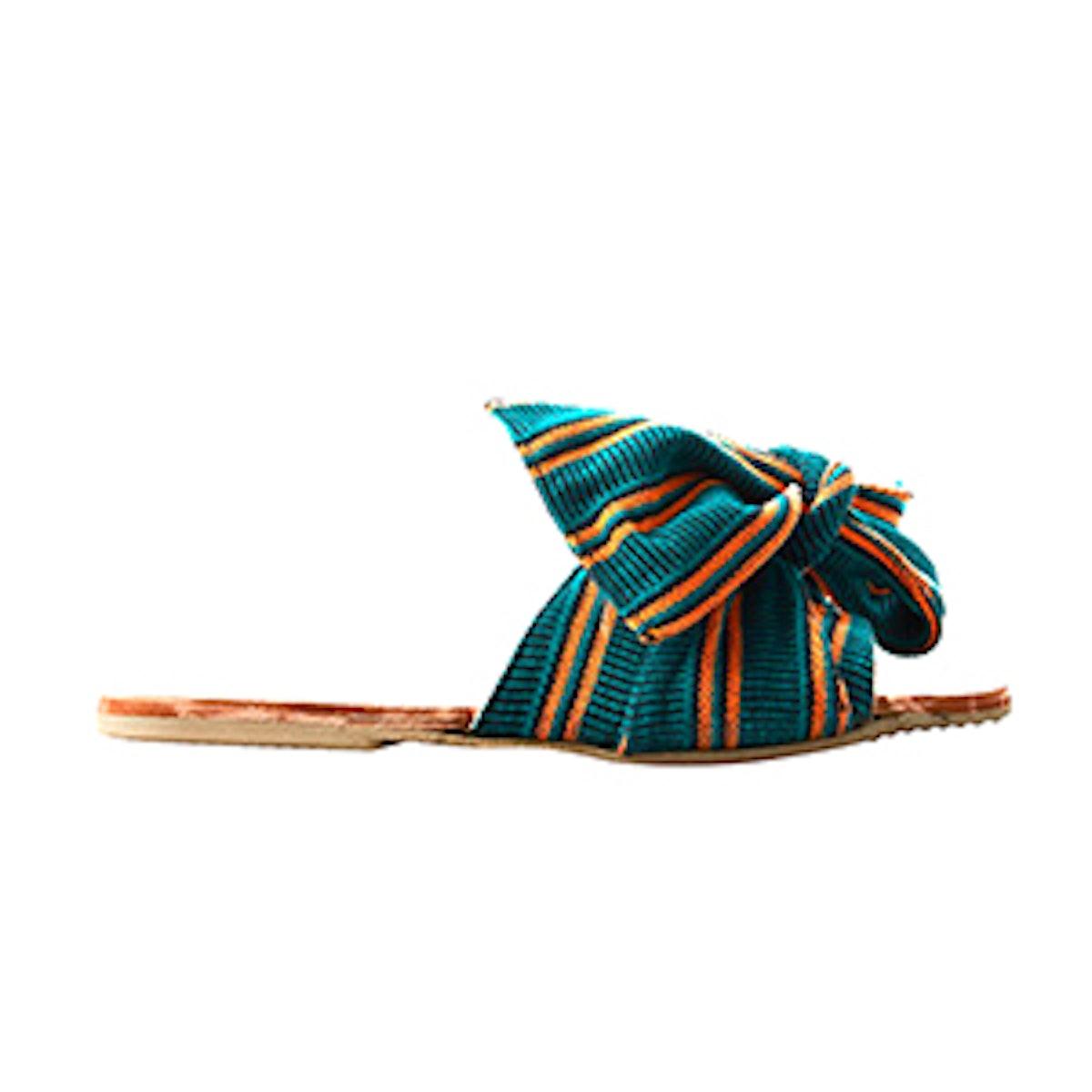 Verde Stripe Burkina Slide