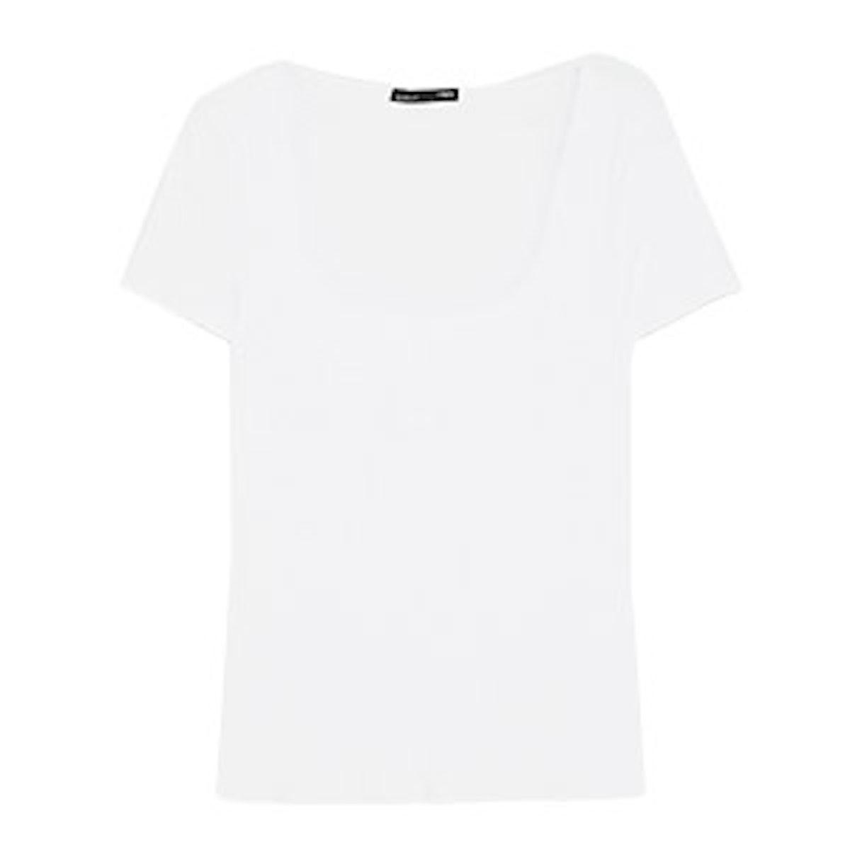 Square Neckline T-Shirt
