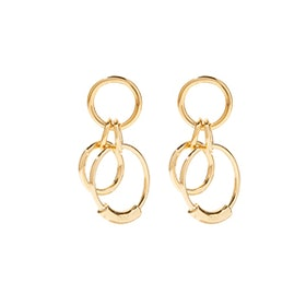 Reese Small Gold-Tone Earrings