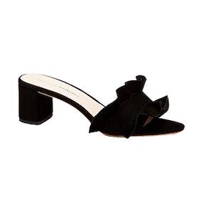 Vera Ruffle Slide Sandal