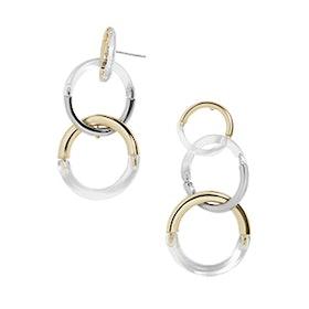 Lova Lucite Drop Earrings