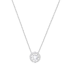 Sparkling Dance Flower Necklace