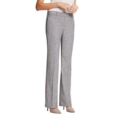 The Petite Trouser in Crosshatch
