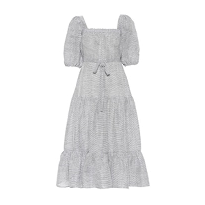 Linen And Silk Dress