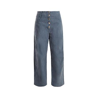 Elkin Cotton-Twill Chino Trousers