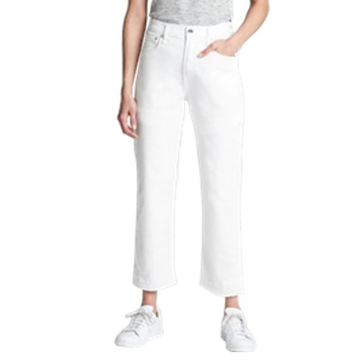 High Rise Wide-Straight Jeans