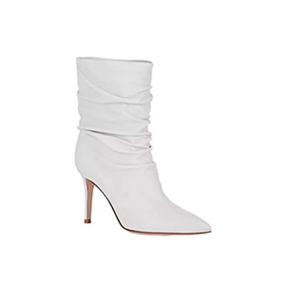 Gianvito Rossi Cecile Leather Ankle Boots