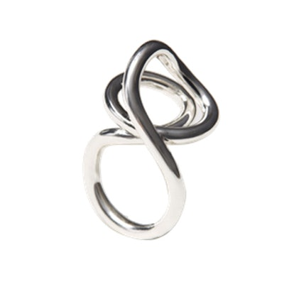 Silver-Plated Ring