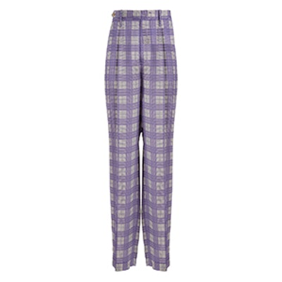 Canvas Check Royce Trousers