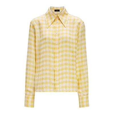 Gingham Jacquard Charlie Shirt
